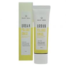 Deoproce Muse vera urban polluout sun gel, 50мл Гель для лица солнцезащитный