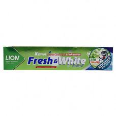 Lion Зубная паста для защиты от кариеса прохладная мята - Thailand fresh & white, 160г