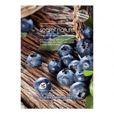Secret Nature Firming blueberry mask sheet, 25г Маска для лица укрепляющая с экстрактом черники