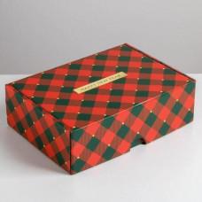 Коробка складная - «Волшебного нового года», 30,7*22*9,5см