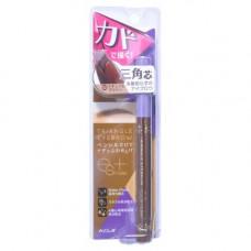 Koji Triangle eyebrow, 20г Карандаш для бровей влагостойкий коричневый