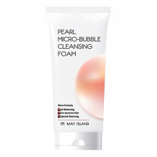 May Island Pearl micro-bubble cleansing foam, 120мл Пенка для умывания