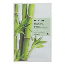 Mizon Joyful time essence mask bamboo, 23г Маска тканевая для лица с экстрактом бамбука