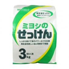 Miyoshi Miyoshi's soap, 3кг Мыло для стирки порошковое на основе натуральных компонентов