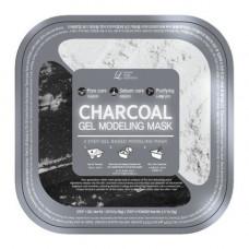 Lindsay Charcoal gel modeling mask, 55г Маска альгинатная с древесным углем (пудра+гель)