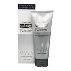 3W Clinic Collagen white peeling gel, 180г Гель с коллагеном