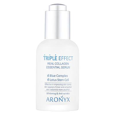 Aronyx Medi flower triple effect serum, 50мл Сыворотка с морским коллагеном