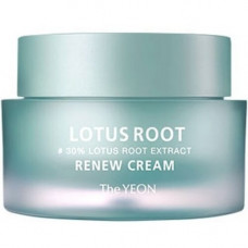 TheYEON Lotus root renew cream, 50мл Крем увлажняющий с экстрактом лотоса