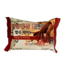 Juno Perfume peeling soap red ginseng, 120г Мыло отшелушивающие с красным женьшенем