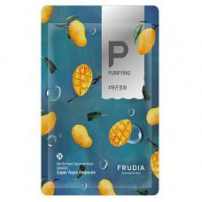 Frudia My orchard squeeze mask mango, 20г Маска тканевая смягчающая с манго