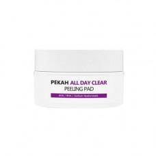 Pekah All day clear, 65мл Диски очищающие и отшелушивающие