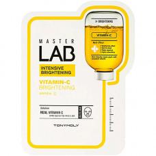 Tony Moly Master lab vitamin c brightening mask sheet, 19мл Маска отбеливающая с витамином С
