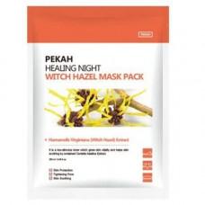 Pekah Healing night witch hazel mask pack, 5шт*25мл(упаковка) Маска вечерняя с гамамелисом