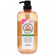 JunLove Natural herb shampoo, 1000мл Шампунь с маслом шиповника