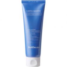 WellDerma Earth marine moist foam cleanser, 120мл Пенка для умывания увлажнение