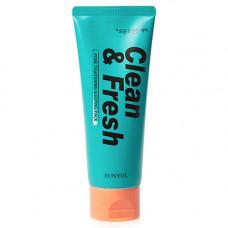 Eunyul Clean & fresh pore tightening sleeping pack, 120мл Маска ночная для сужения пор