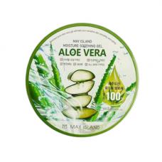 May Island Aloe vera purity 100% soothing gel, 300мл Гель для лица и тела с экстрактом алоэ