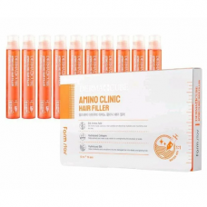 FarmStay Derma сube amino clinic hair filler, 13мл*10шт Филлер для волос с аминокислотами