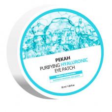 Pekah Purifying hyaluronic eye patch, 60шт Патчи для глаз омолаживающие с гиалуроновой кислотой