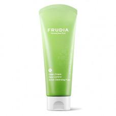 Frudia Green grape pore control scrub cleansing foam, 145мл Скраб пенка для умывания с виноградом
