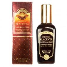 3W Clinic Premium placenta age repair skin, 145мл Скин тоник для лица антивозрастной