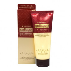 3W Clinic Collagen crystal peeling gel, 140г Гель восстанавливающий с коллагеном