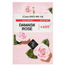 Etude House Therapy air mask damask rose, 20мл Маска тканевая с экстрактом дамасской розы 0.2