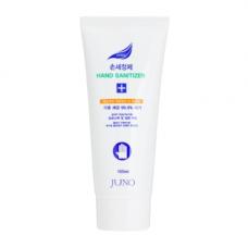 Juno Hand gel blue, 100мл Гель для рук увлажняющий с антибактериальным эффектом