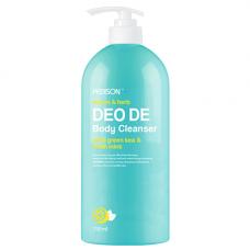 Pedison Deo de body cleanser, 750мл Гель для душа лимон/мята