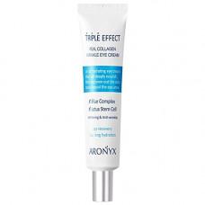 Aronyx Medi flower triple effect wrinkle eye cream, 40мл Крем для кожи вокруг глаз с коллагеном