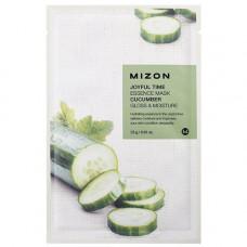 Mizon Joyful time essence mask cucumber, 23г Маска тканевая с экстрактом огурца