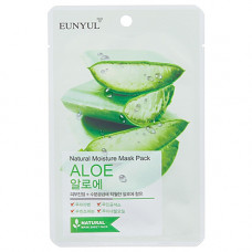 Eunyul Natural moisture mask pack , 22мл Маска тканевая с экстрактом алоэ