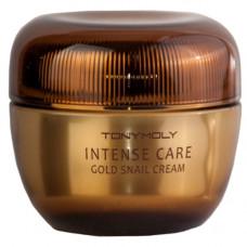 Tony Moly Intense care gold snail cream, 45мл Крем для лица с муцином улитки