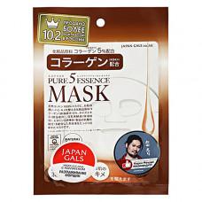 Japan Gals Collagen mask, 30мл Маска с коллагеном