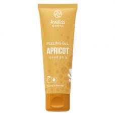 AsiaKiss Appricot peeling gel, 180мл Пилинг гель с экстрактом абрикоса