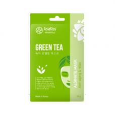 AsiaKiss Green tea alginate mask, 25г Маска альгинатная с экстрактом зеленого чая