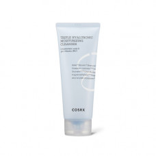 Cosrx Hydrium trple hyaluronic moisturizing cleanser, 150мл Пенка увлажняющая для умывания