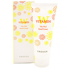 Enough W Vitamin vita vital hand cream, 100мл Крем для рук с витамином С