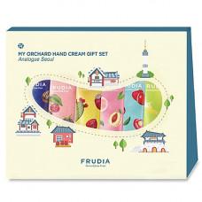Frudia Analogue seoul my orchard hand cream gift set, 6*30 мл Подарочный набор кремов для рук