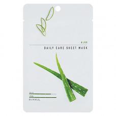 Eunyul Aloe daily care sheet mask, 22г Маска тканевая для лица с экстрактом алое