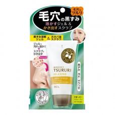 BCL Tsururi gel & scrub, 55г Гель скраб для удаления черных точек отшелушивающий