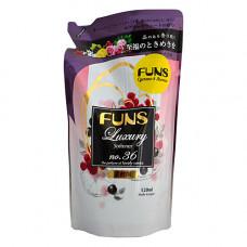 Funs , 520мл Кондиционер парфюмированный для белья с ароматом грейпфрута и черной смородины, з/б