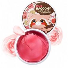 Secret Key Pink racoony hydro-gel eye & cheek patch, 60шт Патчи гидрогелевые для глаз и щек
