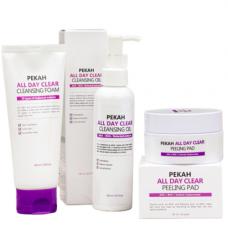 Pekah All day clear 3set Набор для лица очищение