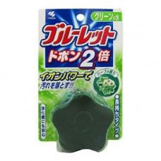 Kobayashi Bluelet dobon double herb, 120г Таблетка унитаза дезодорирующая с ароматом свежих трав