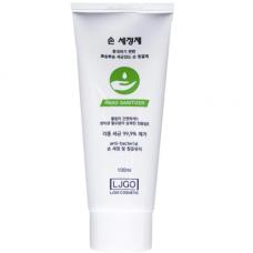 Juno Ljgo hand gel green, 100мл Гель для рук смягчающий с антибактериальным эффектом