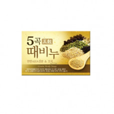 Mukunghwa Grain body soap, 100г Мыло для тела отшелушивающее и питающее с 5 злаками