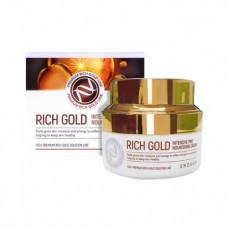 Enough Rich gold intensive pro nourishing cream, 50мл Крем для лица с маточным молочком