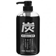JunLove Charcoal shampoo, 600мл Шампунь для волос с древесным углём
