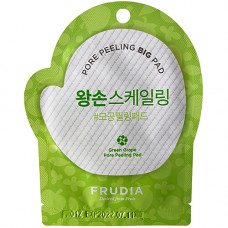 Frudia Green grape pore peeling pad (Pouch) Диски отшелушивающие с зеленым виноградом (1саше)